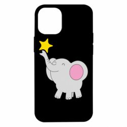 Чохол для iPhone 12 mini Слон із зірочкою