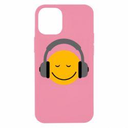 Чехол для iPhone 12 mini Smile in the headphones
