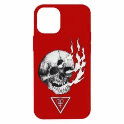 Чохол для iPhone 12 mini Smoke from the skull