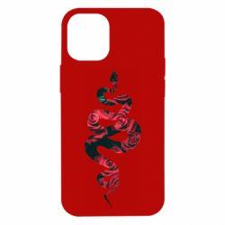Чохол для iPhone 12 mini Snake and roses