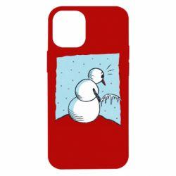 Чохол для iPhone 12 mini Snowman. It's Cold!