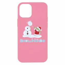 Чехол для iPhone 12 mini Snowmando
