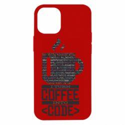 Чохол для iPhone 12 mini Сoffee code