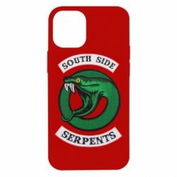 Чехол для iPhone 12 mini South side serpents stripe