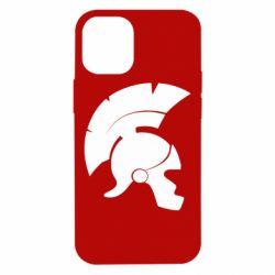 Чехол для iPhone 12 mini Spartan helmet