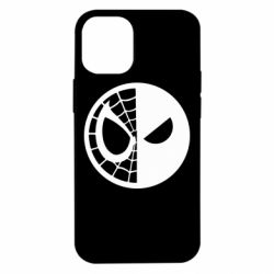 Чохол для iPhone 12 mini Spider Man and Deadpool