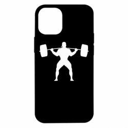 Чохол для iPhone 12 mini Спортсмен зі штангою