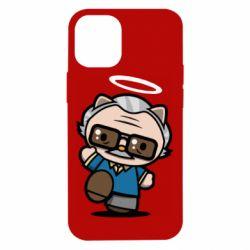 Чохол для iPhone 12 mini Stan lee in hello kitty style