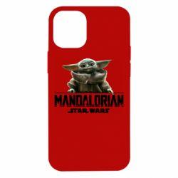 Чехол для iPhone 12 mini Star Wars Yoda beby