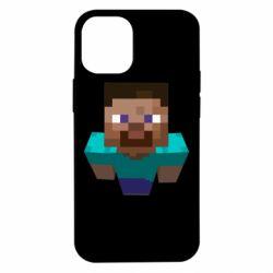 Чехол для iPhone 12 mini Steve from Minecraft