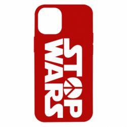 Чехол для iPhone 12 mini Stop Wars peace