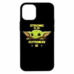 Чехол для iPhone 12 mini Strong in me