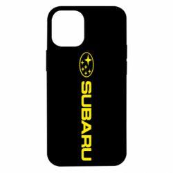 Чехол для iPhone 12 mini Subaru logo