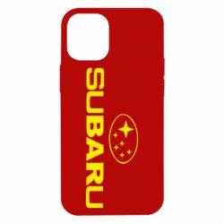 Чехол для iPhone 12 mini Subaru