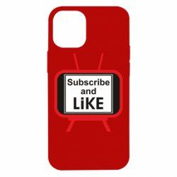 Чохол для iPhone 12 mini Subscribe and like youtube