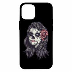 Чохол для iPhone 12 mini Sugar girl with a rose