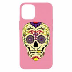 Чохол для iPhone 12 mini Sugar Skull Vector