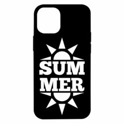 Чехол для iPhone 12 mini Summer and sun