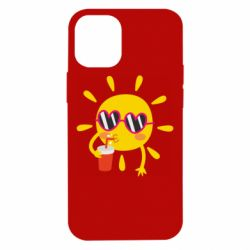 Чехол для iPhone 12 mini Sun with juice