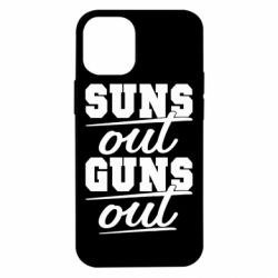 Чехол для iPhone 12 mini Suns out guns out