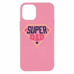 Чехол для iPhone 12 mini Super dad text