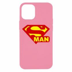 Чехол для iPhone 12 mini Super Man