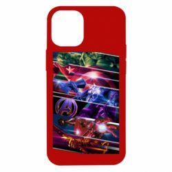 Чехол для iPhone 12 mini Super power avengers