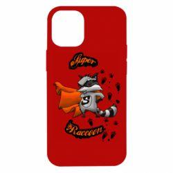 Чехол для iPhone 12 mini Super raccoon