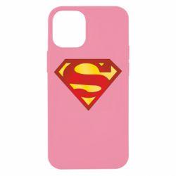 Чехол для iPhone 12 mini Superman Classic
