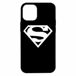 Чехол для iPhone 12 mini Superman одноцветный