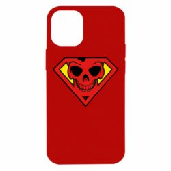 Чехол для iPhone 12 mini Superman Skull