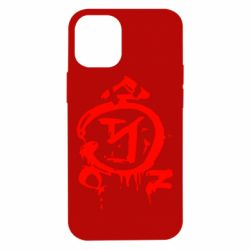Чехол для iPhone 12 mini Сверхъестественное логотип