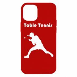 Чохол для iPhone 12 mini Table Tennis Logo
