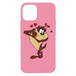 Чехол для iPhone 12 mini Taz in love
