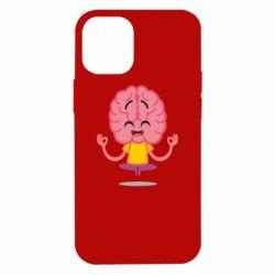 Чохол для iPhone 12 mini The brain meditates
