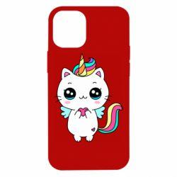 Чохол для iPhone 12 mini The cat is unicorn