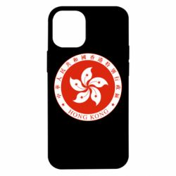 Чехол для iPhone 12 mini The coat of arms of Hong Kong