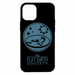 Чехол для iPhone 12 mini The flat earth society