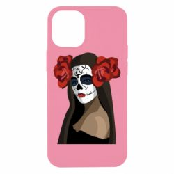 Чохол для iPhone 12 mini The girl in the image of the day of the dead
