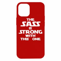 Чохол для iPhone 12 mini The sass is strong with this one