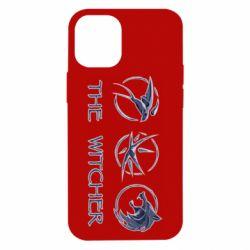 Чехол для iPhone 12 mini The witcher pendants