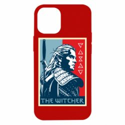 Чехол для iPhone 12 mini The witcher poster