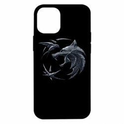 Чехол для iPhone 12 mini The  witcher: wolf and swallow