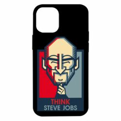 Чехол для iPhone 12 mini Think Steve Jobs