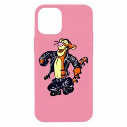 Чехол для iPhone 12 mini Tiger biker