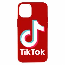 Чехол для iPhone 12 mini Tiktok logo