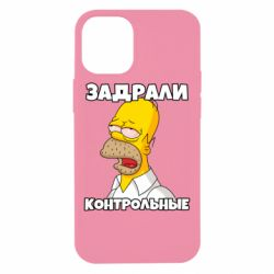 Чохол для iPhone 12 mini Tired of studying
