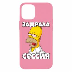 Чехол для iPhone 12 mini Tired of the session