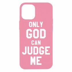 Чохол для iPhone 12 mini Тільки Бог може судити мене