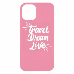 Чехол для iPhone 12 mini Travel Dream Live